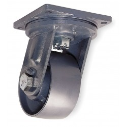 Hamilton Caster - S-MD-84FST-4SL - 8 Extra Super Duty Swivel Plate Caster, 17, 000 lb. Load Rating