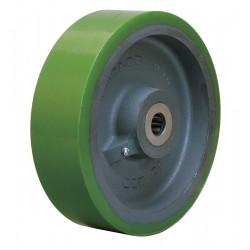 Hamilton Caster - W-1030-D-1 - 10 Caster Wheel, 3000 lb. Load Rating, Wheel Width 3, Polyurethane, Fits Axle Dia. 1