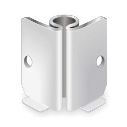 Other - CRNR BRKT 90 IN - Stem Caster Bracket, 1-5/8 in. H, PK5