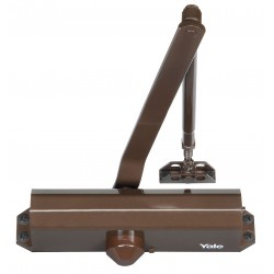 Yale / Assa Abloy - 1104BCX690 - Manual Hydraulic Yale 1104-Series Door Closer, Heavy Duty Interior and Exterior, Dark Bronze