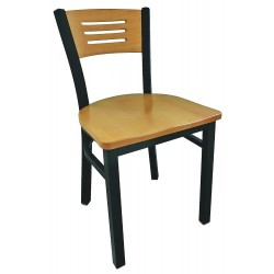 Other - 5VXZ3 - Cafe Chair, 32-1/4 H, 19-1/2 W, Natural