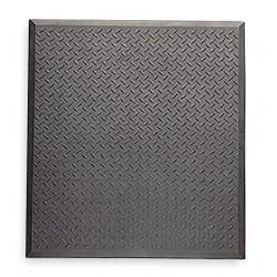 Notrax - 545S2831BL - Antifatigue Mat, Rubber, 2 ft. 7 x 2 ft. 4, 1 EA