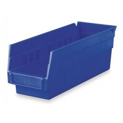 Akro-Mils / Myers Industries - 30-120-BLUE - 4-1/8 x 4 x 11-5/8 Blue Parts Bin