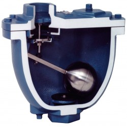 Val-matic - 204C.2 - 300 psi Clean Water Air Release/Air Vacuum Valve, 4 Inlet Size, 4 Outlet Size