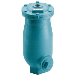 Val-matic - 801A - 150 psi Waste Water Air Release/Air Vacuum Valve, 2 Inlet Size, 1 Outlet Size