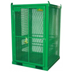 Saf-T-Cart - STS-20 - Vertical Storage, 79 x 50 x 50, Assembled, Green
