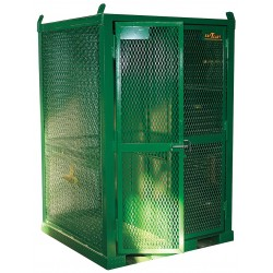 Saf-T-Cart - STS-20-FW-2 - Saf-T-Cart 79 X 50 X 50 Steel Cylinder Cage With Firewall (Holds Oxygen And Acetylene Cylinder), ( Each )