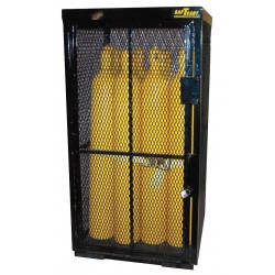 Saf-T-Cart - SECURITY CAGE - Vertical Storage, 74 x 42 x 39, Assembled, Black