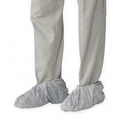 DuPont - TY450SWH00020000 - Universal Shoe Covers, Slip Resistant Sole: No, Waterproof: No, 5 Height