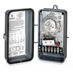 Invensys Controls - 632-20 - Defrost Timer Control, 208/240VAC Voltage, Defrost Time (Minutes): 3 to 45, 3 min. Increments