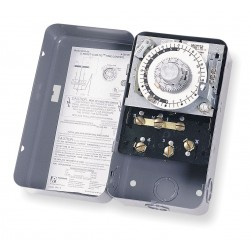 Invensys Controls - 8045-20 - Defrost Timer Control, 208/240VAC Voltage, Defrost Time (Minutes): 4 to 110, 2 min. Increments