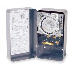Invensys Controls - 8145-20 - Defrost Timer Control, 208/240VAC Voltage, Defrost Time (Minutes): 4 to 110, 2 min. Increments