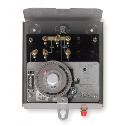 Invensys Controls - 8245-20 - Defrost Timer Control, 208/240VAC Voltage, Defrost Time (Minutes): 4 to 110, 2 min. Increments