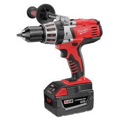 Milwaukee Electric Tool - 0726-22 - Milwaukee M28 28 V M28 Redlithium XC 450/1800 RPM Cordless Hammer Drill With 1/2' Chuck, ( Each )