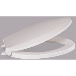 Centoco - AMFR800STSS-001 - Toilet Seat, Elongated, With Cover, 19 Bolt to Seat Front