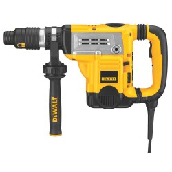 Dewalt - D25651K - DeWALT 13.5 A 210 - 415 RPM Corded Spline Combination Hammer Kit With 1 3/4' Chuck And Shocks Active Vibration Control And 2 Stage Clutch (Includes 360 Side Handle, Users Guide And Kit Box), ( Each )