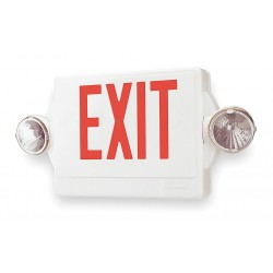 Acuity Brands Lighting - LHQM S W 3 R HO M4 - Emerg Exit Sign 90w, Ea