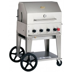 Crown Verity - MCB-30 - 64500 BtuH Stainless Steel Gas Grill with One 20 lb. Tank