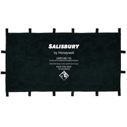 Honeywell - ARC48-15PS - Arc Protection Blanket, Length 4 ft., Width 8 ft., ASTM F2676, kA Rating 15, Navy Blue