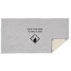 Honeywell - ARC48-40PS - Arc Protection Blanket, Length 4 ft., Width 8 ft., ASTM F2676, kA Rating 40, Gray/Khaki