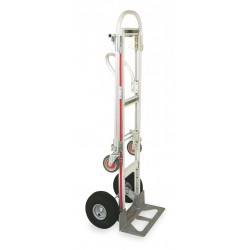 Magliner - GMK81UA4 - Convertible Hand Truck, Continuous Frame Loop, Overall Height 61