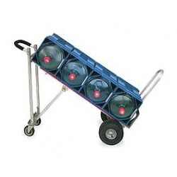 Magliner - TPAUA4 - Convertible Hand Truck, Continuous Frame Loop, 300 lb., Overall Height 51