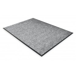 Notrax - 117S0046GY - Gray Needle-Punched Yarn, Entrance Mat, 4 ft. Width, 6 ft. Length
