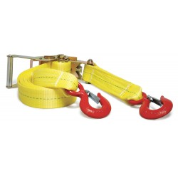 B/A Products - 38-HD2 - Tie Down, Strap Length 16 Ft., Strap Width 2 In., Load Capacity 3670 Lb., Working Load Limit 3670 Lb., Breaking Strength 12000 Lb., Polyester, EA