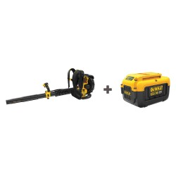 Dewalt - DCBL590X1/ DCB406 - Cordless Blower Kit, 450 cfm Max Air Flow