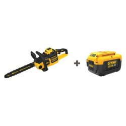 Dewalt - DCCS690H1/ DCB406 - Cordless Chain Saw Kit, Fuel Battery, 40V