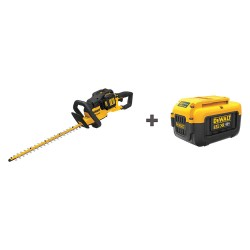 Dewalt - DCHT860M1/ DCB406 - Cordless Hedge Trimmer Kit, Double-Sided Blade Type, 22 Bar Length, 40V Electric Engine