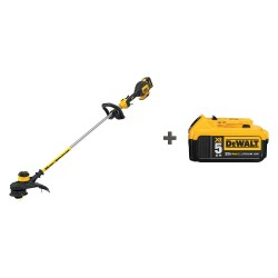 Dewalt - DCST920P1/ DCB205 - Cordless String Trimmer Kit, Fuel Battery