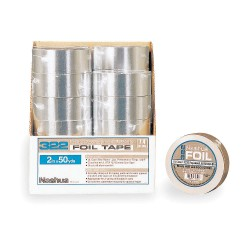 Nashua Tape - 322 - Foil Tape with Liner, 72mm x 46m, Silver