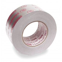 Nashua Tape - 324A - Printed Foil Tape, 72mm x 55m, Silver
