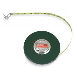 Lufkin - HW226 - 100 ft. Steel SAE Long Tape Measure, Brown