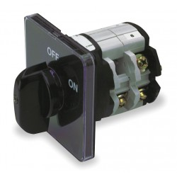 Advance Controls - 101490G - Rotary Cam Switch, 3 Phase, Number of Poles: 3, 1.81 Diameter