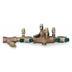 Watts Water Technologies - 009M2QTS-3/4 - Reduced Pressure Zone Backflow Preventer, Bronze, Watts 009 Series, NPT Connection