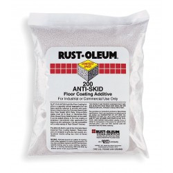 Rust-Oleum - 200504 - Off-White Anti Skid Floor Coating Additive, Silica Base Type, Size: 1 lb.
