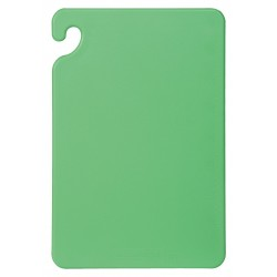 San Jamar - CB121812GNGR - 12 x 18 Co-Polymer Cutting Board, Green