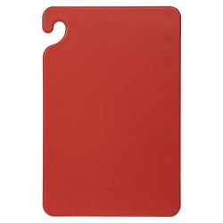 San Jamar - CB121812RD - 12 x 18 Co-Polymer Cutting Board, Red