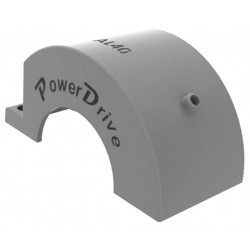 PowerDrive - AL40 - Chain Coupling Cover, O D 4 In