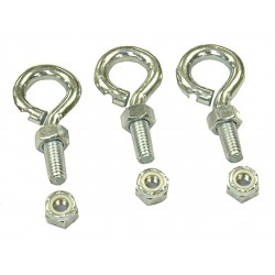 Patterson Fan - HV KIT 34 - Suspension Bolts For Use With Mfr. No. H34B-CS, Includes (3) Eye Bolts, Nuts, Washers and Assembly In