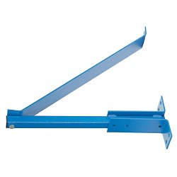 Patterson Fan - CW 34 BLUE - Wall Mounting Bracket For Use With Mfr. No. H34B-CS with YOKE 34 BLUE, Includes Assembly Hardware, In