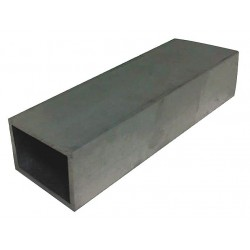 Other - 6ALU6 - Aluminum Corrosion Resistant Rectangular Tubing, Alloy Type 6063