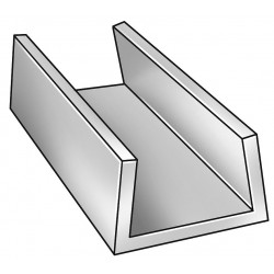 Aluminum Ushaped Channel Stock