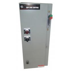 GE (General Electric) - 308BT94H31DAJAA - NEMA Fusible Combination Starter, 18 Amps AC, 480V/120V Coil Volts