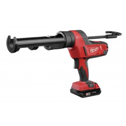 Milwaukee Electric Tool - 2641-21CT - Milwaukee 2641-21CT M18 18V 10Oz. Caulk And Adhesive Gun Kit w/ Rod & Piston