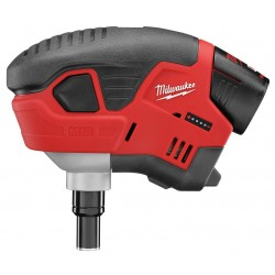Milwaukee Electric Tool - 2458-21 - Cordless Palm Nailer Kit, Voltage 12.0 Li-Ion, Battery Included, Fastener Range 1 to 3-1/2
