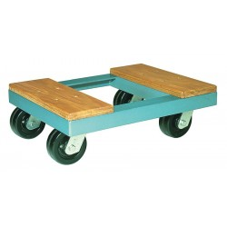 Hamilton Caster - DB273 - 19L x 14-1/2W x 5H Gray General Purpose Dolly, 900 lb. Load Capacity
