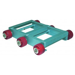 Hamilton Caster - DM261 - 27-1/2L x 17-1/2W x 5H Gray General Purpose Dolly, 5000 lb. Load Capacity